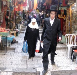 Jerus Old City Hassidic Muslim Crop