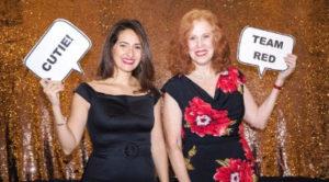 Karen and Alicia Menda